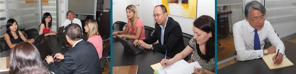 L'équipe du cabinet Fidurys est composée d'experts-comptables, assistants comptables et assistants juridiques